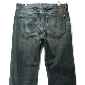 7 For All Mankind - 36x31.5 Straight Leg Men's